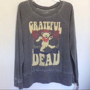 Grateful Dead Long Sleeve Pullover